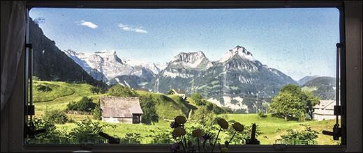 Testfahrt 5. Wieder mal in der Schweiz unterwegs